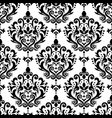 damask elegant seamless pattern victorian vector image vector image