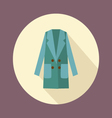 Flat Women double-breasted coat icon