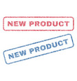 new product textile stamps vector image vector image