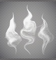 smoke isolated transparent vector image
