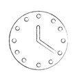 wall watch time icon vector image vector image