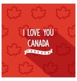 Canadian quote poster design vector image
