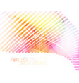 abstract colors lines scene vector image vector image