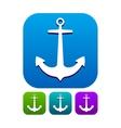 Anchor icon vector image vector image