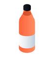 bottle of antifreeze icon isometric style vector image vector image