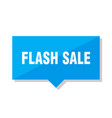 flash sale price tag vector image vector image