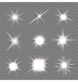 flashes vector image vector image