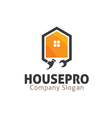 House Pro Design vector image vector image