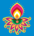 indian light vector image vector image