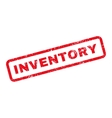 Inventory Text Rubber Stamp vector image vector image