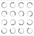 Loading or preloaders icon set vector image