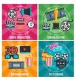 Cinema Industry Concept vector image
