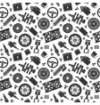 auto spare parts seamless pattern car repair vector image vector image