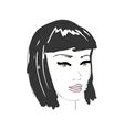 FashionWoman3 vector image vector image