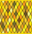 harlequine golden seamless pattern vector image vector image