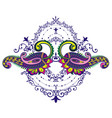 paisley element for your design vector image vector image