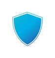 shield safety badge icon privacy guard banner vector image