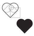 valentine valentine heart vector image