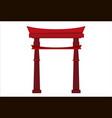 japanese pagoda icon vector image