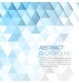 triangular background vector image vector image