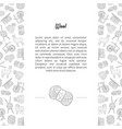 Wool banner template with place for text and