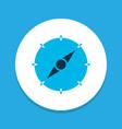 compass icon colored symbol premium quality vector image vector image