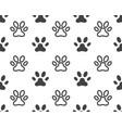 paw icon design vector image vector image
