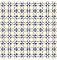 Seamless retro wallpaper pattern vector image vector image
