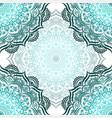 hand-drawn seamless mandala vector image