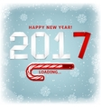 happy new year gift card vector image