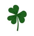 Saint patricks clover icon vector image vector image