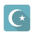 Square Turkey symbol icon vector image vector image