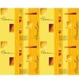 Yellow-orange seamless background vector image