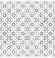 Floral black vintage pattern vector image