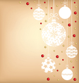 beads balls vector image vector image