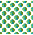 Earth pattern seamless vector image