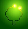eco friendly concept vector image vector image
