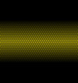 honey comb gold background vector image vector image