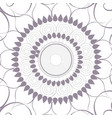 mandala colorful background vector image vector image