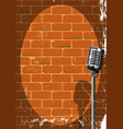 musical event poster grunge vector image vector image