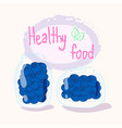 healthy food vector image