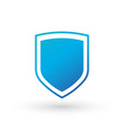 abstract security icon isolated on white vector image vector image