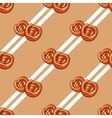 Bagels Seamless Pattern vector image vector image