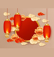 chinese new year festival celebration traditional vector image vector image