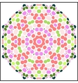 circular colorful pattern vector image vector image