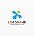 digital letter x link logo icon vector image vector image