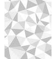 seamless polygonal pattern vector image vector image