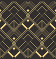 abstract art deco seamless pattern 02 vector image vector image