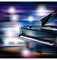 abstract blue white music background with grand vector image vector image