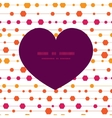 abstract colorful stripes and shapes heart vector image vector image